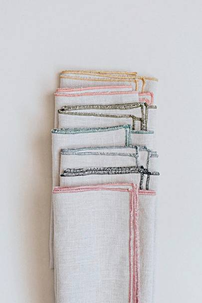 Aerende handmade napkins
