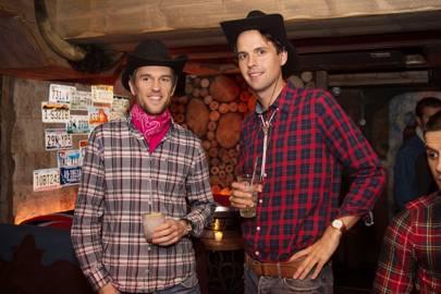 Duncan Stirling and Charlie Gilkes