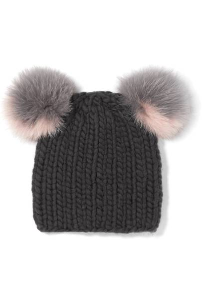Eugenia Kim faux-fur hat