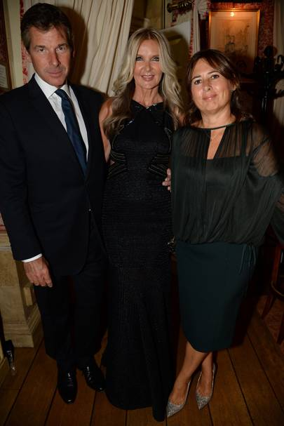 Hugh Morrison, Amanda Wakeley and Alexandra Shulman