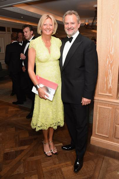 Lulu Williams and Hugh Bonneville