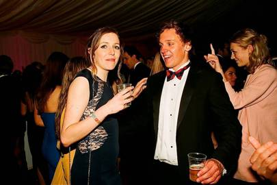 Jessica Findlay and Edward Kesterton