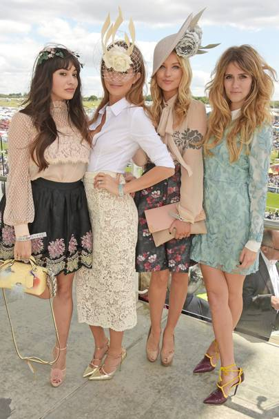 Zara Martin, Millie Mackintosh, Laura Whitmore and Jade Williams