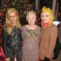Alice Dellal, Vivienne Westwood and Pam Hogg