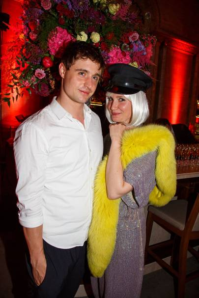 Max Irons and Sophie Pera