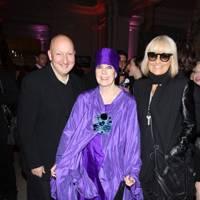 Stephen Jones, Molly Parkin and Barbara Hulanicki