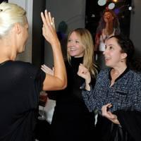 Yasmin Le Bon, Kate Reardon and Deborah Feldman