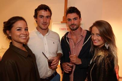 Serena Guen, Will Docking, Calum Henderson and Charlotte Summers