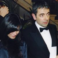 Rowan Atkinson and Mrs Rowan Atkinson