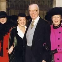 Sophie Poklweski-Koziell, Eliza Poklweski-Koziell, Vincent Poklweski-Koziell and Mrs Vincent Poklweski-Koziell