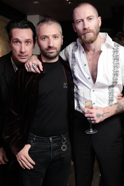 Sebastian Manes, Arthur Kar and Justin O'Shea