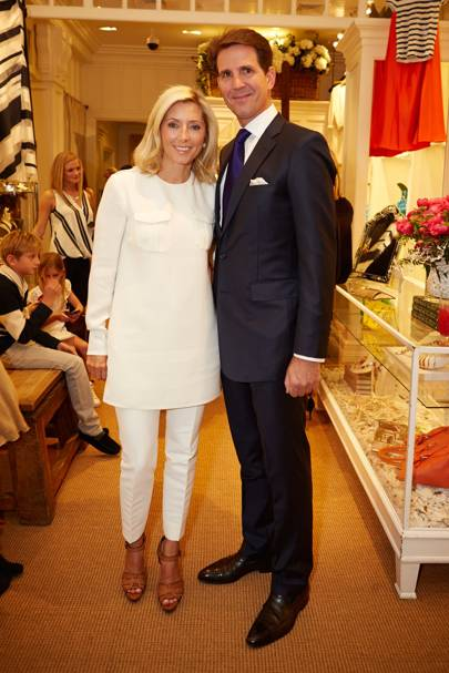 India Hicks and Princess Marie Chantal of Greece