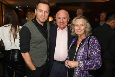 Ewan McGregor, James McGregor and Carol McGregor