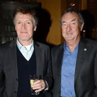 Steve Winwood and Nick Mason