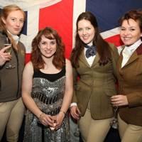Sanna Lonqvist, Natasha Baker, Chloe Harwood and Anna Canlan-Shaw