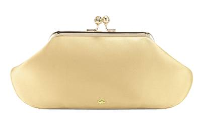 Satin bag, £450, by Anya Hindmarch