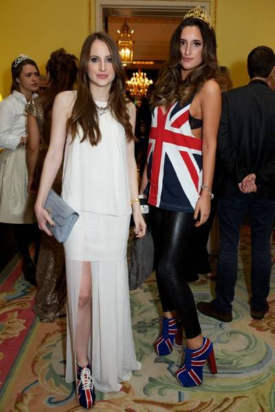 Rosie Fortescue and Lily Fortescue