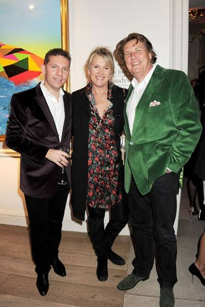Nick Candy, Louise Fennell and Theo Fennell