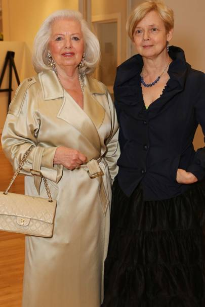 Anne Tyrrell and Claire Pajaczkowska