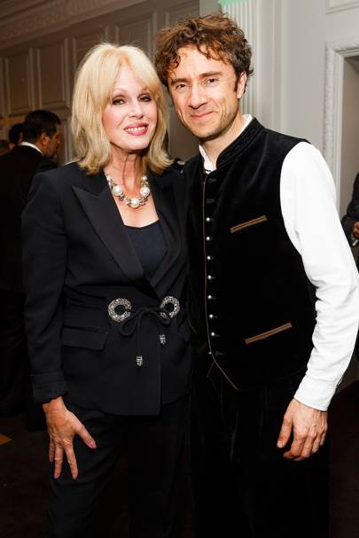 Joanna Lumley and Thomas Heatherwick