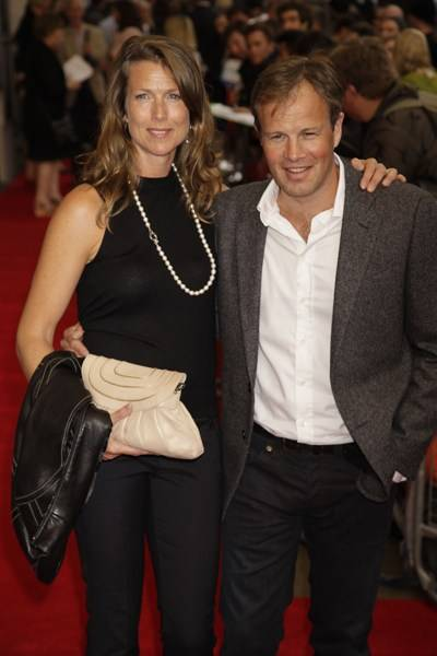 Claudia Bradby and Tom Bradby