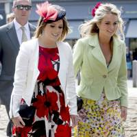 Princess Eugenie and Cressida Bonas