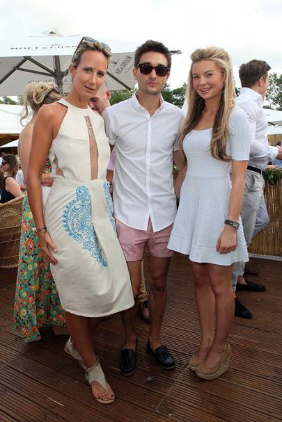 Lady Victoria Hervey, Tom Parker and Georgia Toffolo