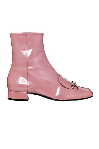 Leather boots, £655, by Gucci