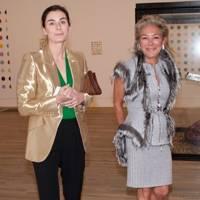 Francesca Amfitheatrof and Liana Mavrommatis