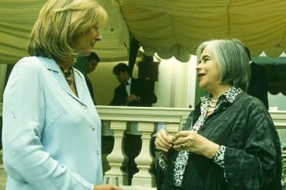 Lady Cobbold and the Hon Mrs Raymond Bonham Carter