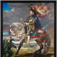Equestrian Portrait of King Philip II (Michael Jackson) by Kehinde Wiley 2010