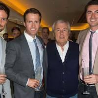 Stephen Bowman, Humphrey Berney, Terry O'Neill and Ollie Baines