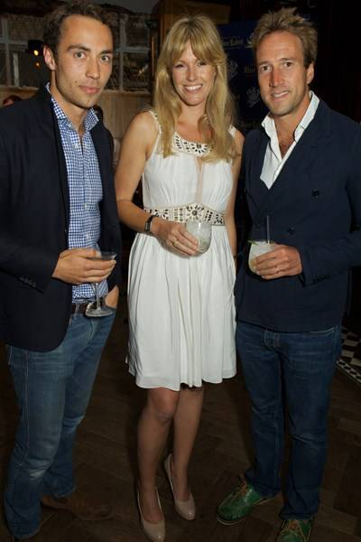 James Middleton, Marina Fogle and Ben Fogle