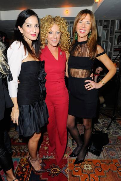 Yasmin Mills, Kelly Hoppen and Heather Kerzner