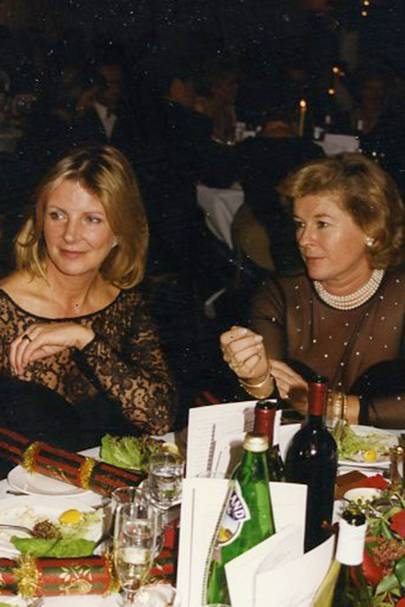 Georgiana Bronfman and Sally Hindley