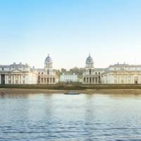 Greenwich Naval College and Moor Park - exteriors of Buckingham Palace