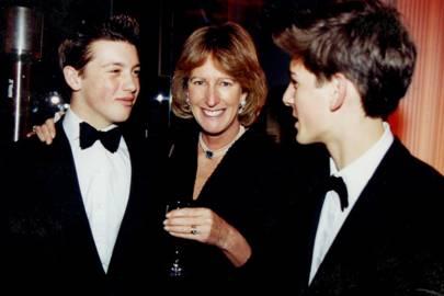 Toby Milne, Mrs Nicholas Cobbold and William Gayner