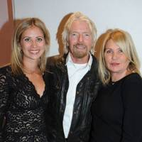 Holly Branson, Sir Richard Branson and Joan Branson