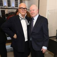 Manolo Blahnik and Christoph von Weyhe