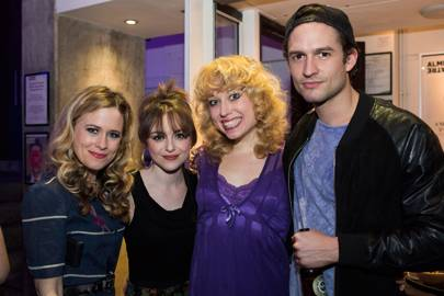 Katie Brayben, Cassandra Compton, Holly Dale Spencer and Ben Aldridge