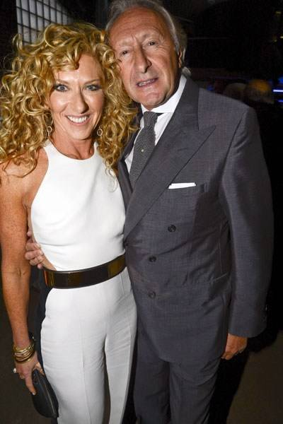 Kelly Hoppen and Harold Tillman