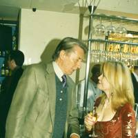 Jeremy Lloyd and Angharad Rees