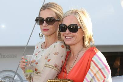 Laura Bailey and Mariella Frostrup