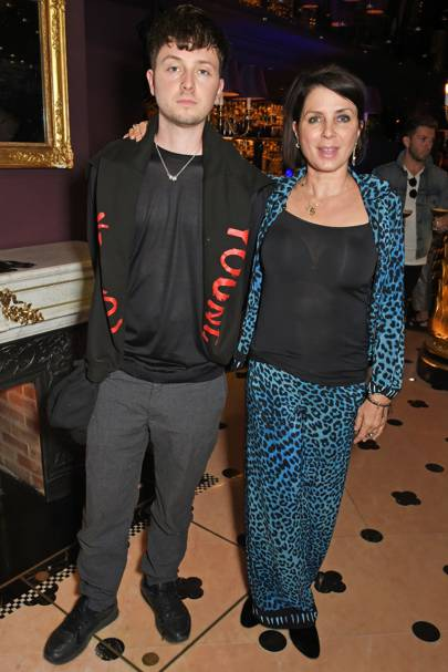 Finlay Kemp and Sadie Frost
