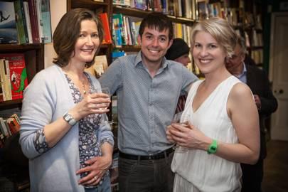 Fiona Higgins, Ross Montgomery and Sarah Naughton
