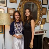 Lavinia Brennan and Lady Natasha Rufus Isaacs