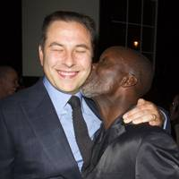 David Walliams and Leo Wringer