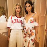Hailey Baldwin and Lily Aldridge