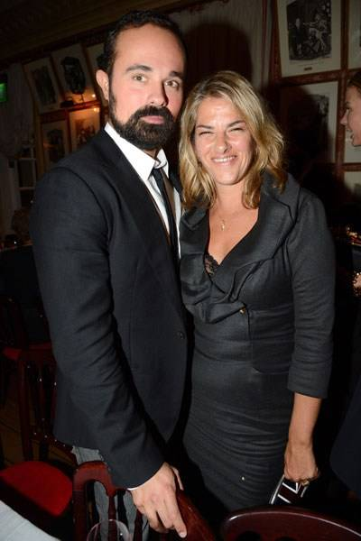 Evgeny Lebedev and Tracey Emin