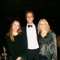 Victoria Herman, Christian Herman and Eva Herman